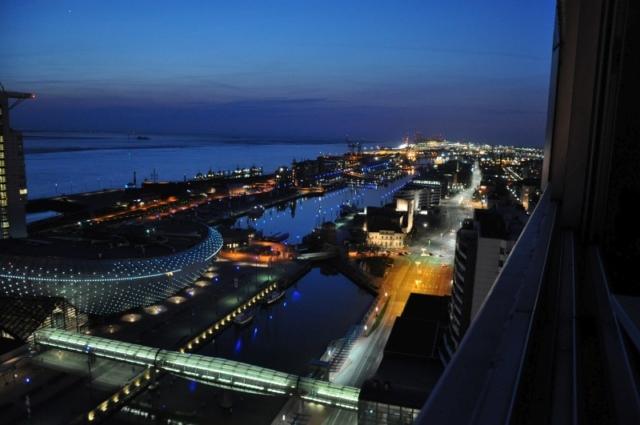 Blick vom Balkon Richtung Nordsee