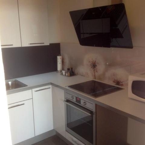 Küche möblierte Wohnung Havenblick