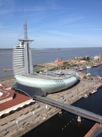 Klimahaus und Atlantic Sail Hotel