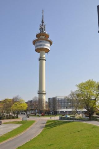 Radarturm mit Aussichtsplattform
