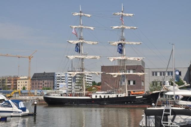 Segelschiff Mercedes zu Besuch beim Seestadtfest