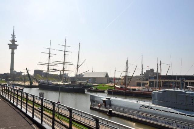 Teil des Museumshafen