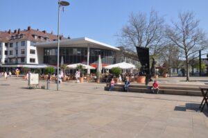 Marktplatz im Zentrum von Bremerhaven